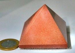 Piramide Pedra do Sol Lapidaçao Manual Medidas Baseada Queops Cod 170.2
