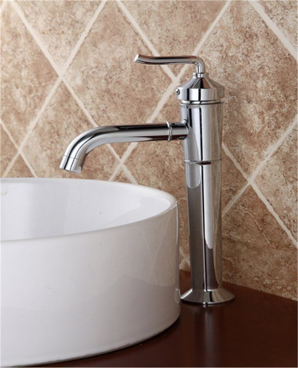 new european chrome style single lever bath bar bathroom vessel sink faucet tap sinkfaucet