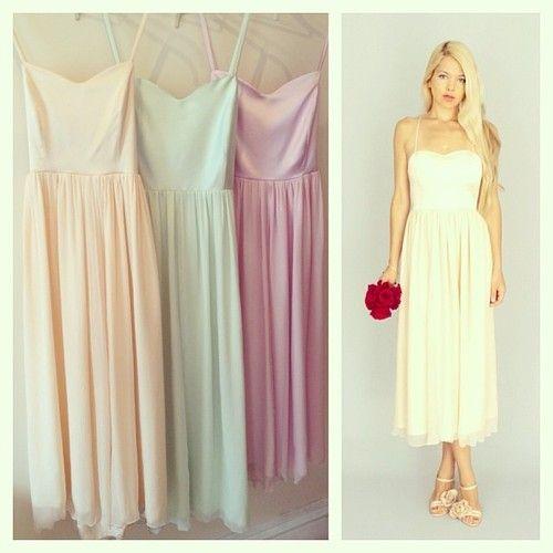 130 best images about Bridesmaids Dresses: Pastel Wedding ...