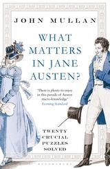 Show details for What Matters in Jane Austen?