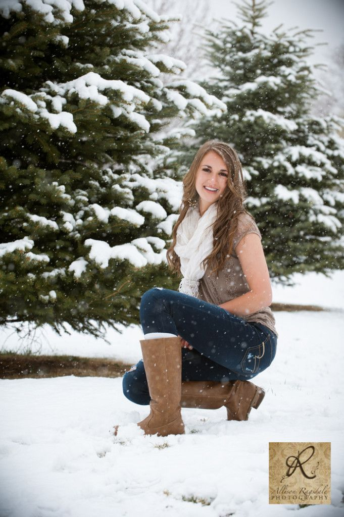 Winter Senior Pictures / Click! Snow Style...just in case it snows...