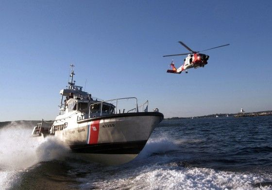U.S. Coast Guard in action