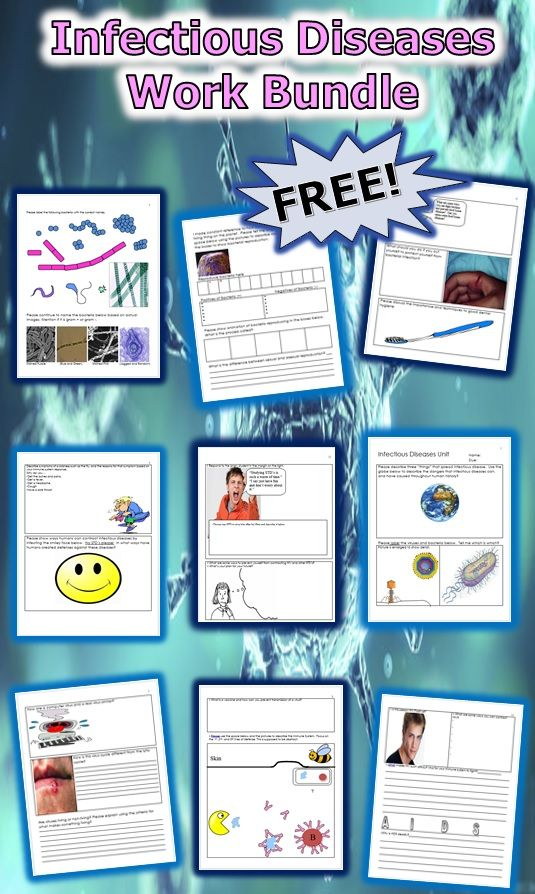 245 best biology images on pinterest physical science human body this is a free 12 page homework or classwork bundle about infectious diseases it covers fandeluxe Choice Image