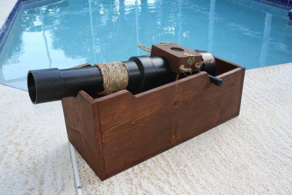 Pirate Ship Cannon Prop | pirate-cannon-build