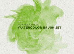 500 Free Watercolor Brushes for PS