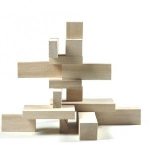 archiblocks city  : architecture wooden blocks Jeu de construction en bois