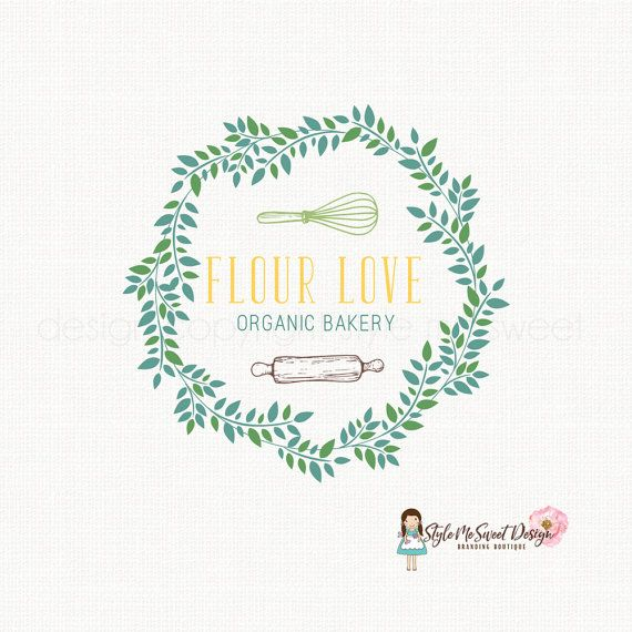 whisk logo design rolling pin logo bakery by
