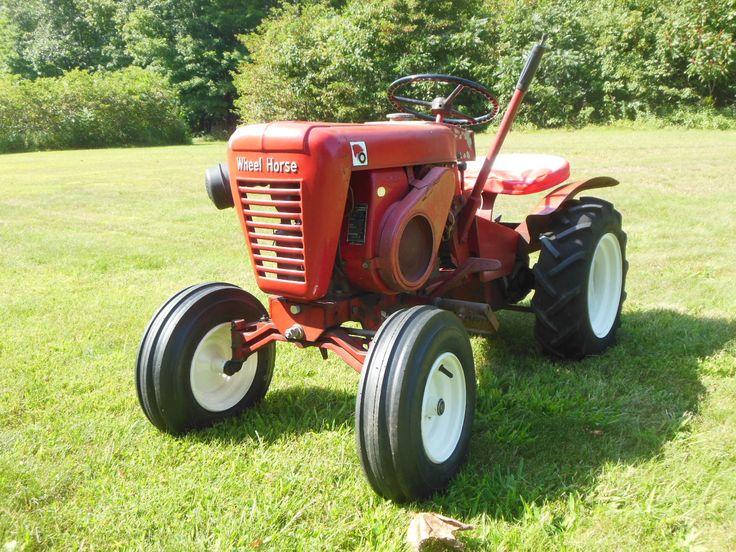 Best Wheel Horse Tractors : Best wheel horse images on pinterest tractor