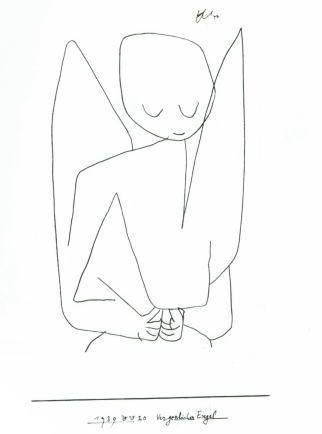 Vergesslicher Engel, c.1939 by Paul Klee