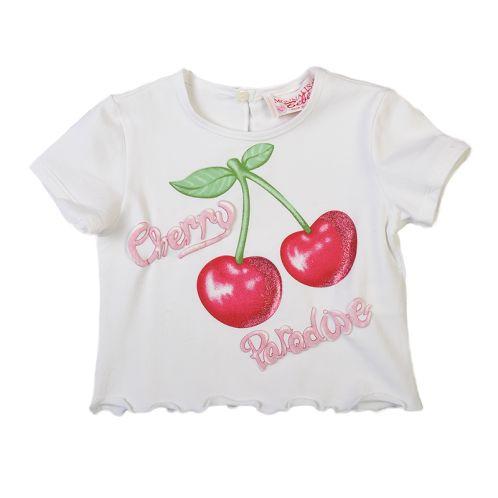 Monnalisa Cherry Baby T-shirt