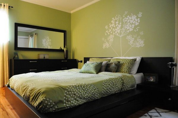 16 best images about the green room concept on pinterest green walls green master bedroom and Master bedroom with green walls