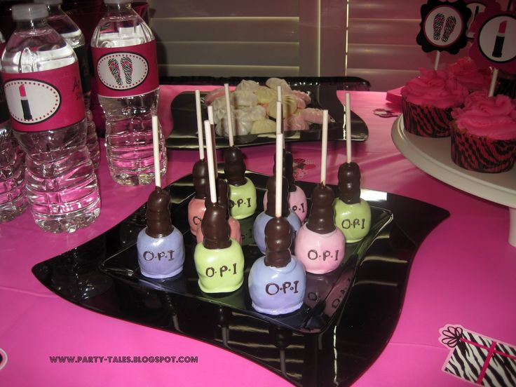 Party-Tales: ~ Birthday Party ~ Zebra Print and Hot Pink DIVA SPA Party