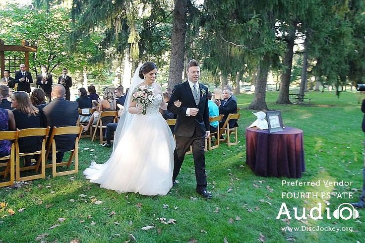 "The brand new Mr. & Mrs. Sergio Kusnetzow greet the world, to the Vitamin String Quartet's ""I'm Yours."" http://www.discjockey.org/real-chicago-wedding-oct-8-2016/"
