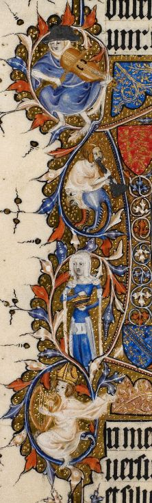 Detail Egerton MS 3277 Date 2nd half of 14th century Title Psalter and Hours (the 'Bohun Psalter') f.29v