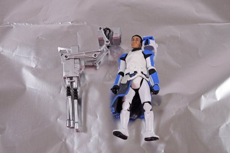 Star Wars The Legacy Collection Clone Trooper with Quad Cannon Action Figure #Hasbro