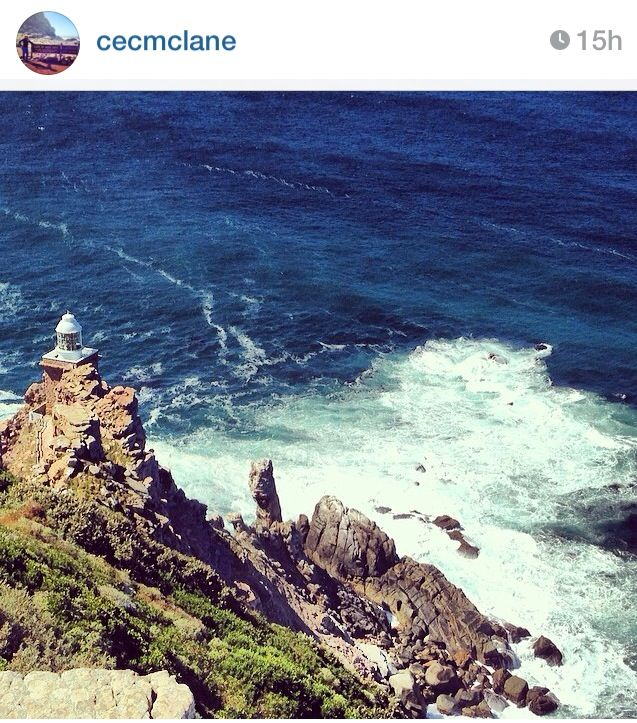 Where the oceans meet #CapePointInstameet