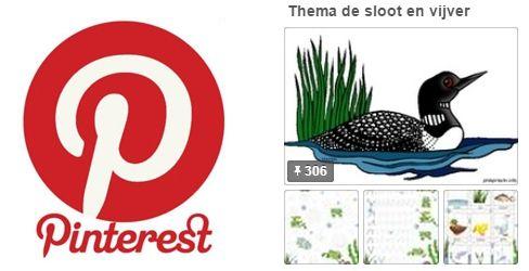 Pinterest juf Petra knutselen thema de sloot voor kleuters