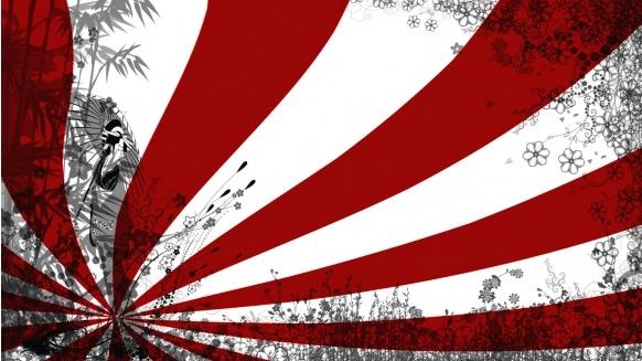 japanese rising sun flag