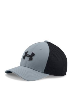 Under Armour Boys' Golf Classic Mesh Cap Boys 8-20 - Gray - One Size