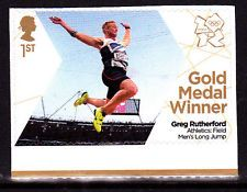 2012 London Olympic Games Team GB Gold Medal Winner - Greg Rutherford Long Jump