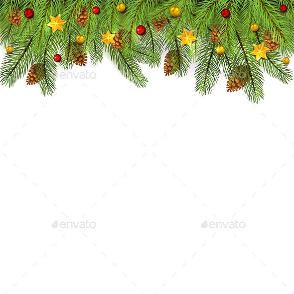 Christmas Decorations On White Background Decorations Christmas Background White Christmas Decorations White Background Holiday Background