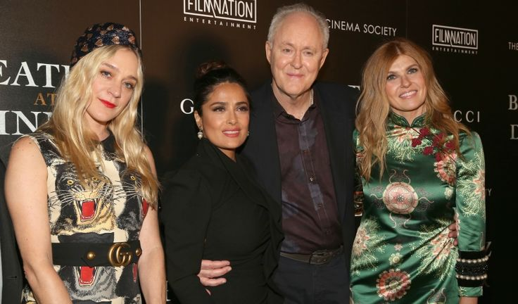 Salma Hayek, Chloë Sevigny, and Gucci Fête New Film 'Beatriz at Dinner' - Daily Front Row https://fashionweekdaily.com/salma-hayek-chloe-sevigny-gucci-fete-new-film-beatriz-dinner/