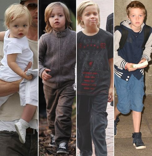 See Angelina Jolie and Brad Pitt's Kids Grow Up Right Before Your Eyes!