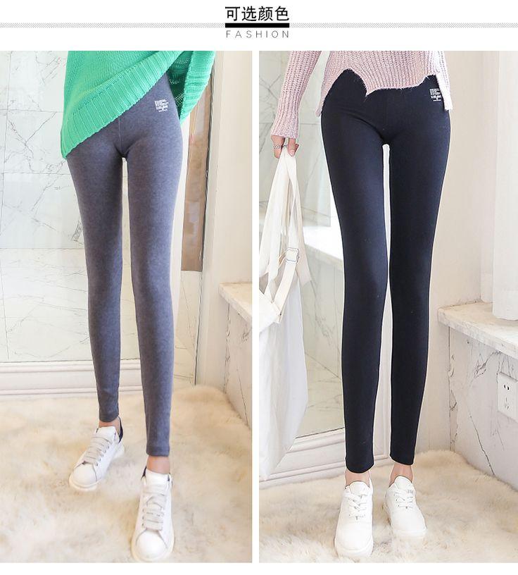 2017 осенне-зимняя печать Тонкие девять очков общей прочности лосины корейской версии тонких брюк брюки дамы брюки большой размер-tmall.com день кошка