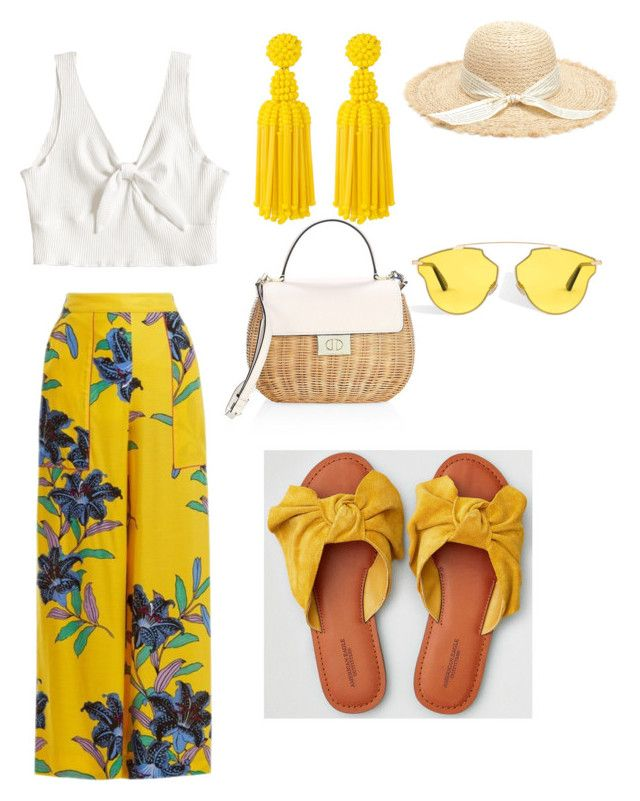 """""""Untitled #173"""" by denisapurple on Polyvore featuring Diane Von Furstenberg, American Eagle Outfitters, Kate Spade and Deepa Gurnani"""