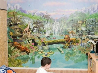 Kids Bedroom Jungle Theme 30 best murals images on pinterest | wall murals, mural ideas and