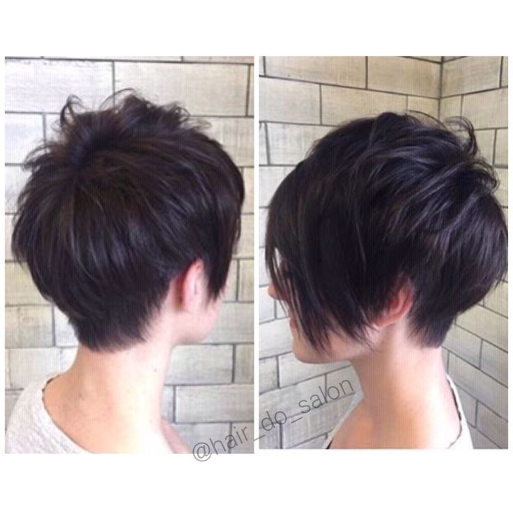 Pixie cut, pixie with a long bang