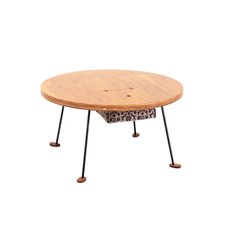 DOUG FIR PLYWOOD TABLE - CIRCLE