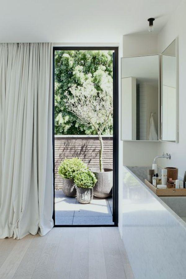 15 Herrlich Und Perfekt Gardinen Fur Bodentiefe Fenster Fenster Galerie Bodentiefe Fenster Gardinen Modern Haus Deko