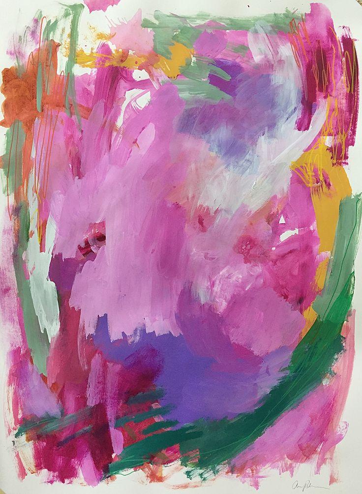 "Pleasure Portal - 22x30"" Painting on Paper"
