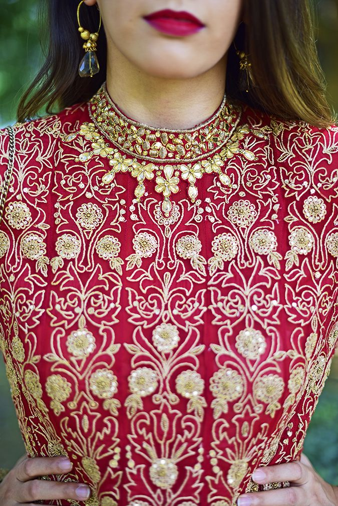 Indianwear - Tarun Tahiliani worn by Akanksha Redhu #diwali #navratri