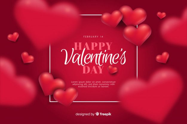 Valentine S Day Background Free Vector Freepik Freevector Background Heart Valentines Day Clipart Happy Valentines Day Images Valentines Day Background