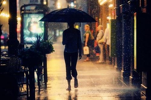 i miss the Paris rain