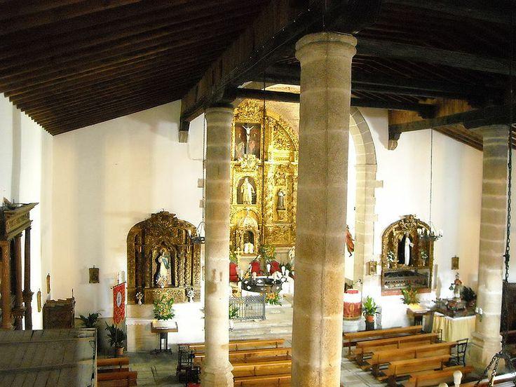 Interior de la iglesia de San Lorenzo.