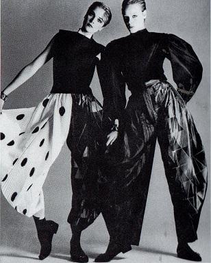 Luciano Soprani 1982 - Completi Arlecchino e Pierrot - Foto Francesco Scavullo