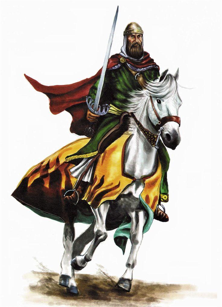 Rodrigo Díaz de Vivar, o más conocido como El Cid, fue un caballero castellano que llegó a dominar el Levante de la península ibérica a finales del siglo XI.