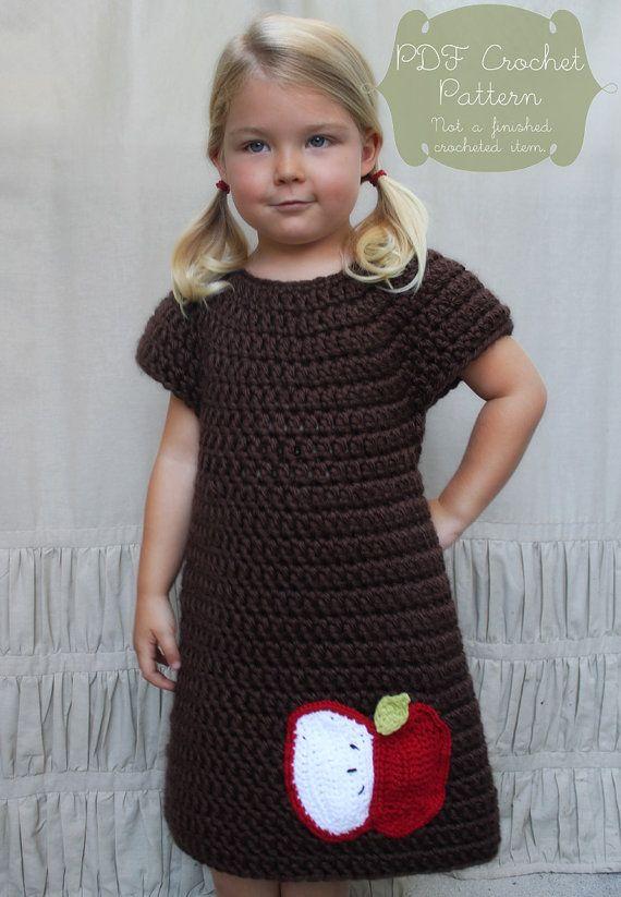 Crochet Pattern The Penny Dress Child 23T by NaturallyNoraCrochet, $4.00