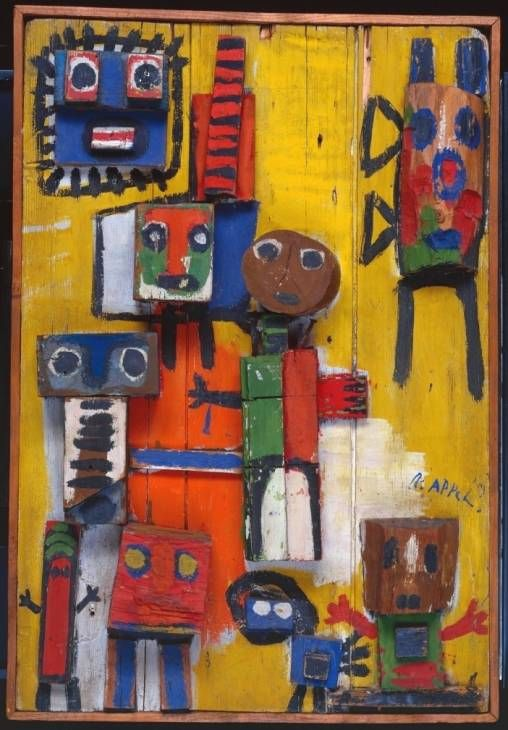 Karel Appel - Questioning Children