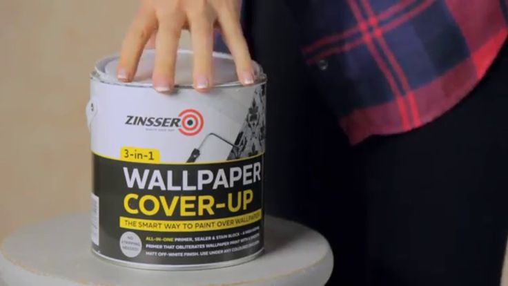How to paint over wallpaper with Zinsser Wallpaper Cover Up