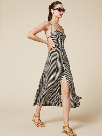 The Manon Dress  https://www.thereformation.com/products/manon-dress-sudoku?utm_source=pinterest&utm_medium=organic&utm_campaign=PinterestOwnedPins