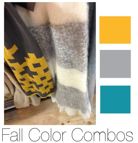 Fall Color Combos added to some recent HomeGoods Finds.