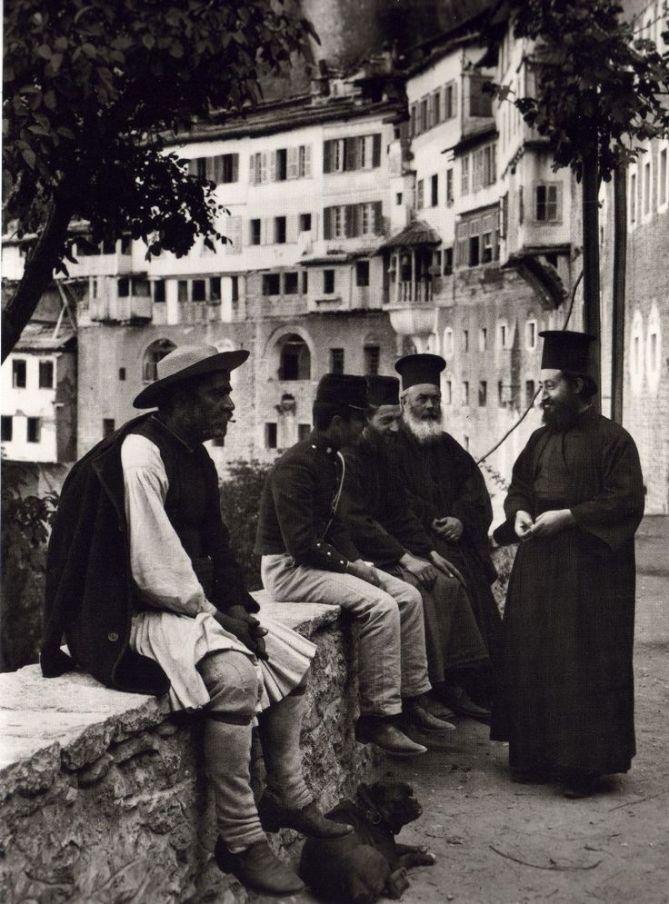 This is my Greece | Mega Spilaio monastery in Kalavryta by Fred Boissonnas (1903-1930)