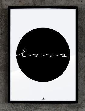Plakat №230: Love