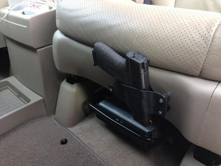 Kydex slide holster for car