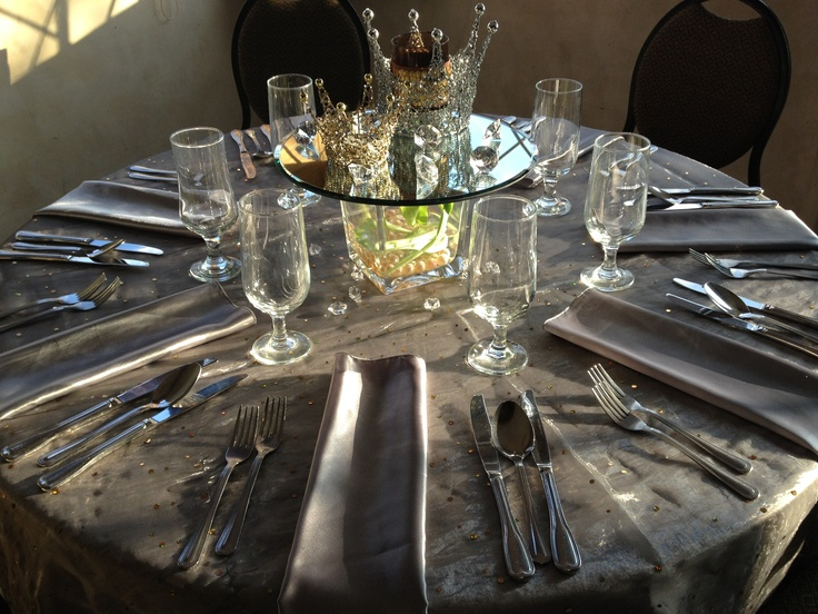 table set for a king!
