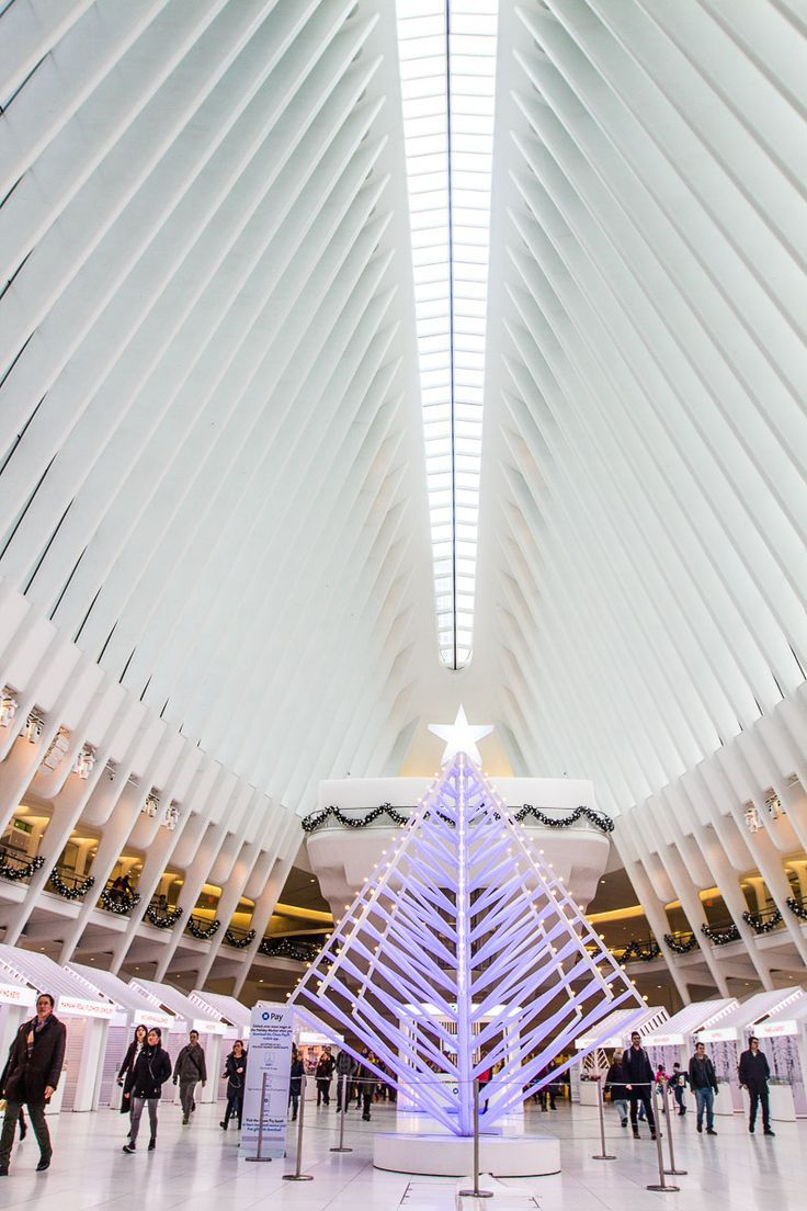 Inside The Oculus at One World Trade Center in NYC